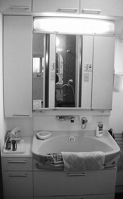 太白区D様 洗面化粧台リフォーム 10.5万円/工期1日間 施工前