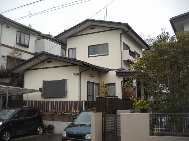 太白区M邸 外壁塗装・外装リフォーム 83.5万円/工期10日間 施工前