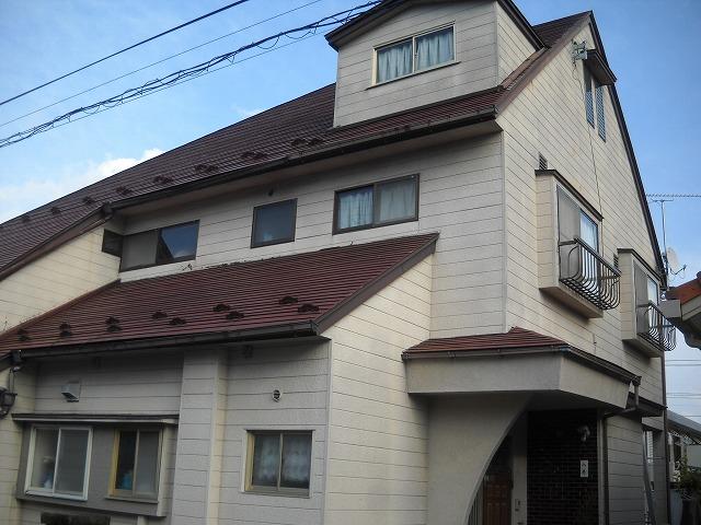 青葉区Y邸 外壁塗装・外装リフォーム 94万円/工期7日間 施工前