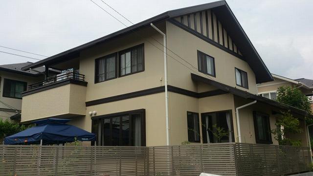 泉区K邸 外壁塗装・外装リフォーム 塗装85万円,駐車場51万円/工期1ヶ月 施工後