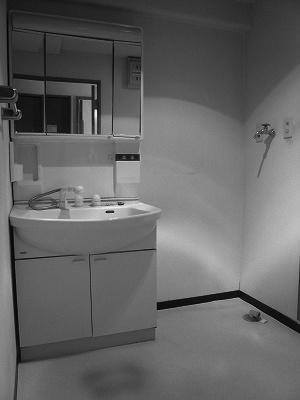 泉区I邸 洗面化粧台リフォーム 工期11日 施工前