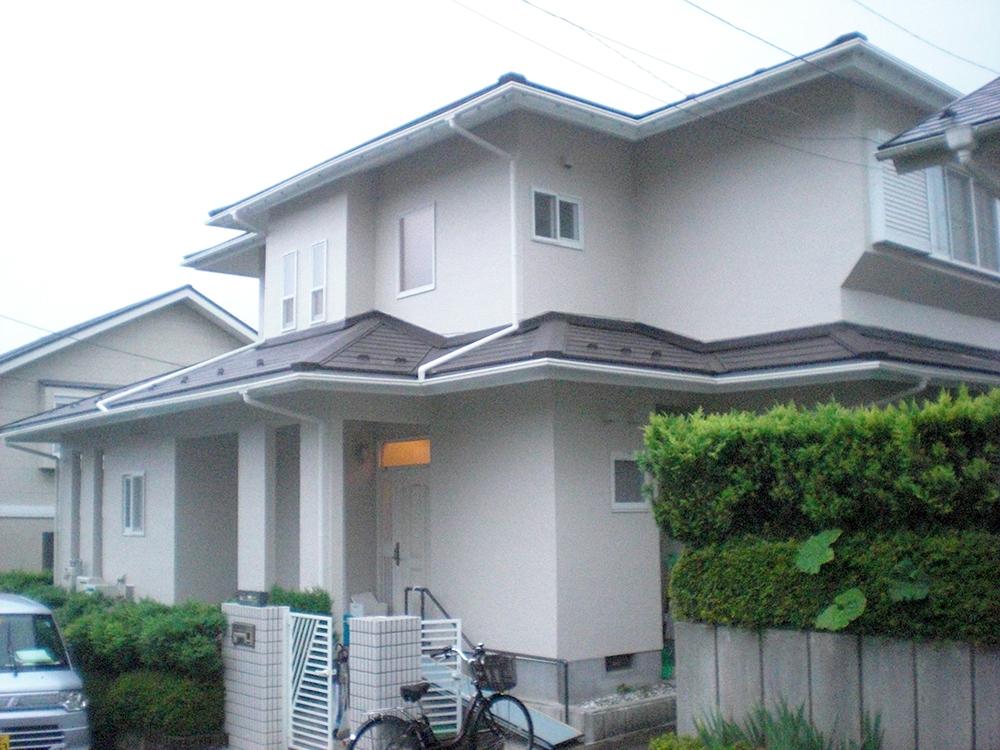青葉区K邸 外壁塗装・外装リフォーム 420万円/工期45日間 施工後
