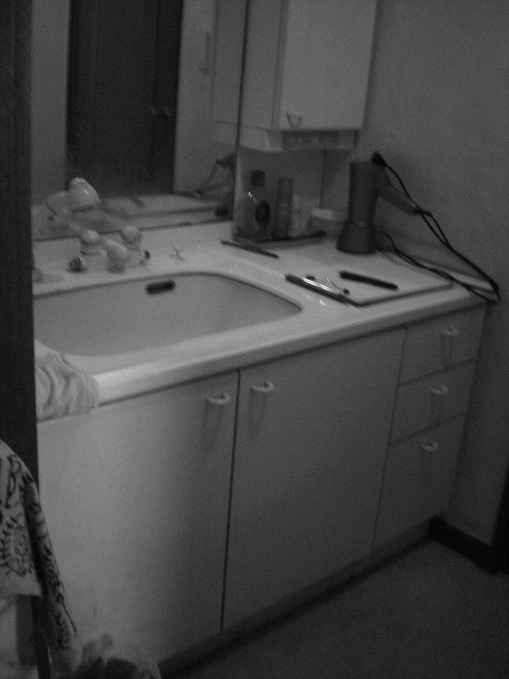 青葉区S邸 洗面化粧台リフォーム 29.7万円※内装工事含/工期1日間 施工前