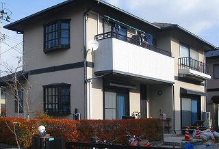 泉区M様 外壁塗装・外装リフォーム 120万円/工期14日間 施工前