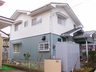 泉区M邸 外壁塗装・外装リフォーム 105万円/工期14日間 施工前