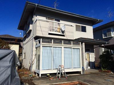 富谷町I邸 外壁塗装・外装リフォーム 85万円/工期10日間 施工前