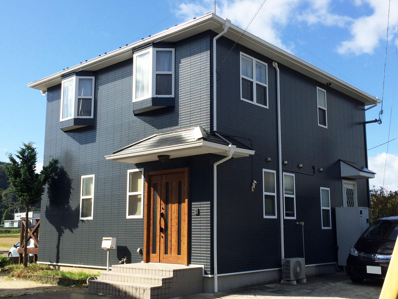 青葉区W邸 外壁塗装・外装リフォーム 185万円/工期1か月間(雨天延期含) 施工後