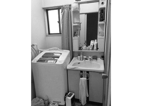黒川郡T邸 洗面化粧台リフォーム 18.2万円※内装含む/工期1日 施工前