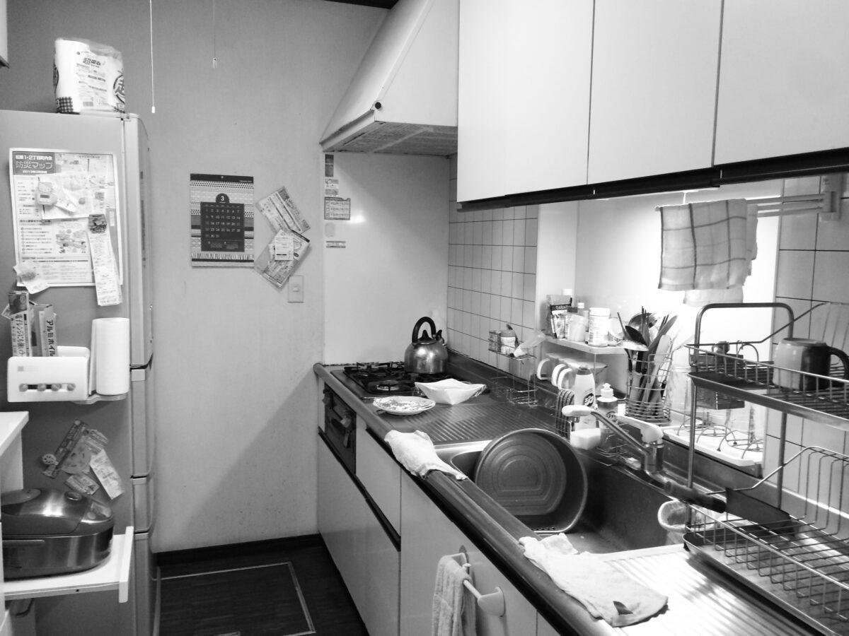 泉区K邸 キッチンリフォーム 172万円/工期7日間 施工前