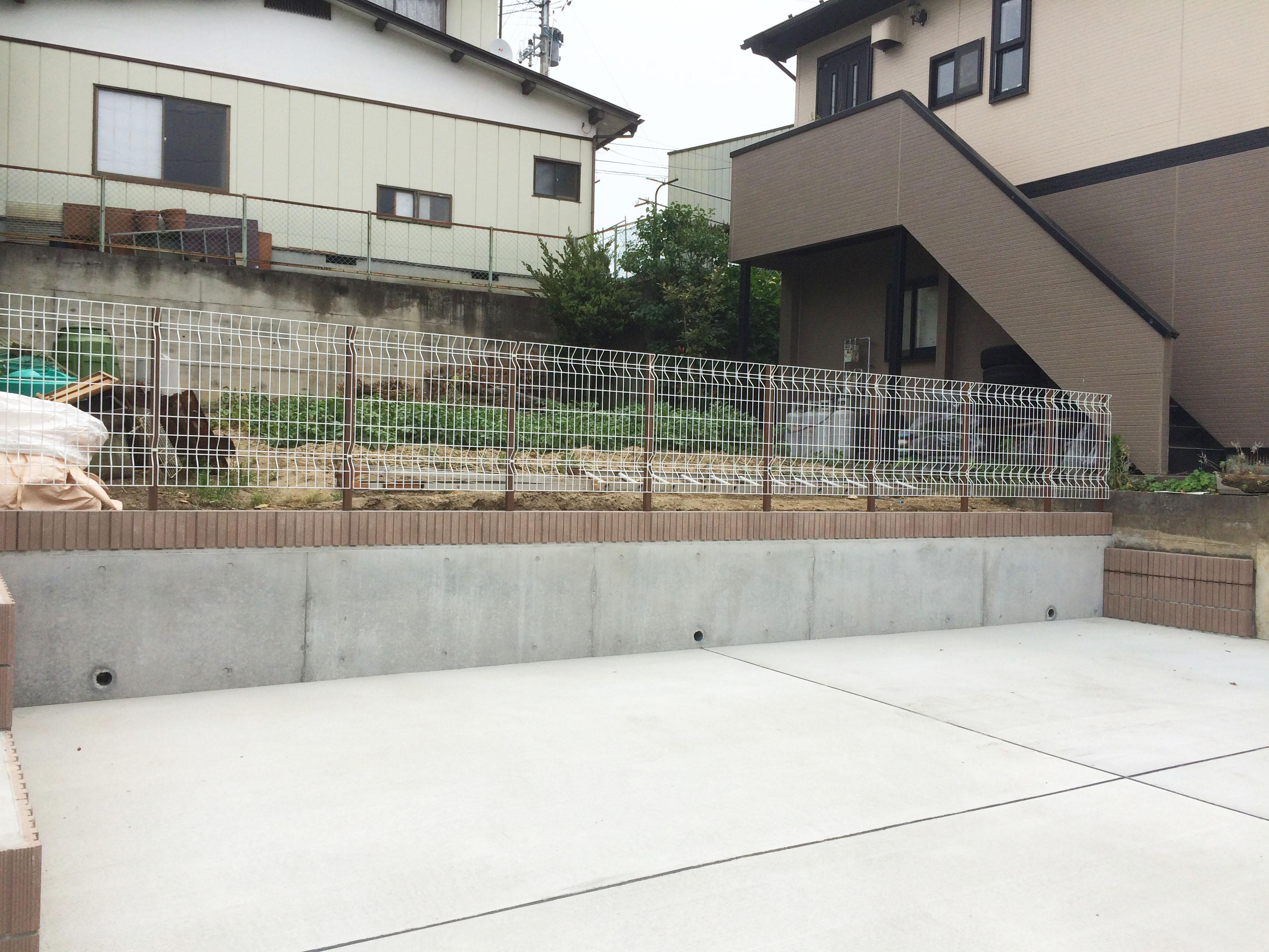 塩竈市N邸 エクステリアリフォーム 388万円(※メッシュフェンス込)/工期1ヶ月半 施工後