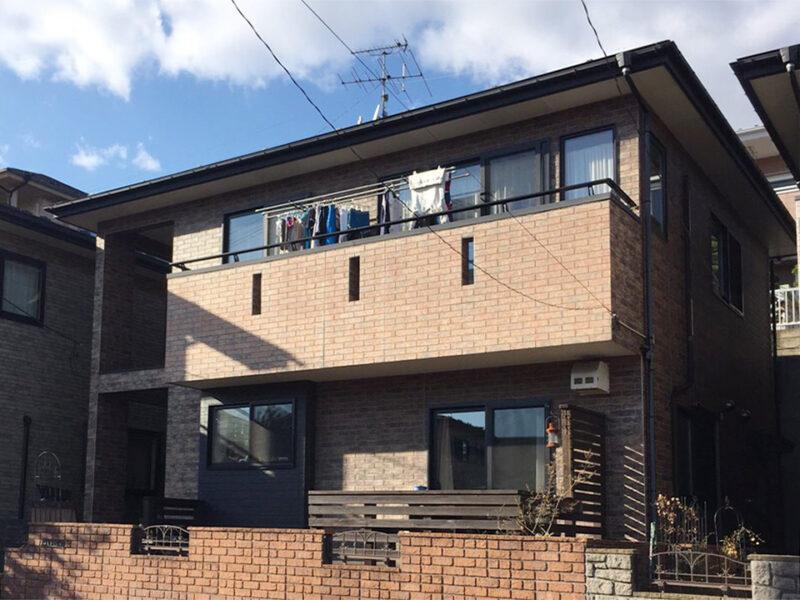 多賀城市T邸 外壁塗装・外装リフォーム 100万円/工期14日間 施工前
