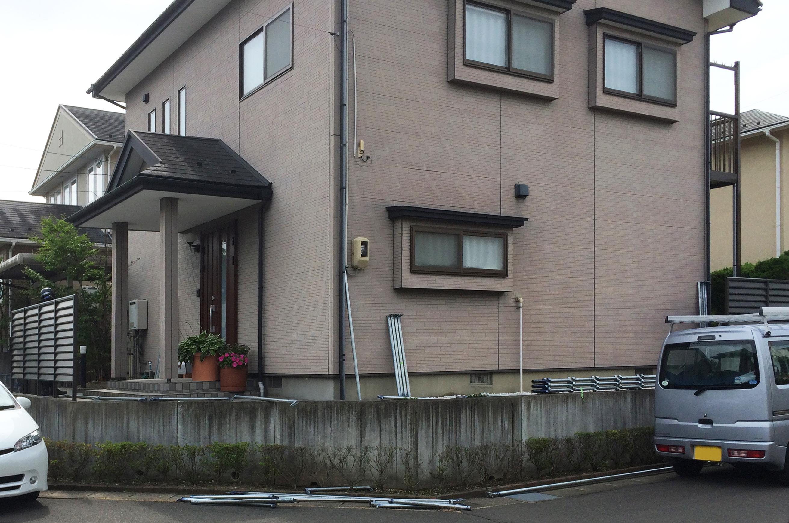 泉区S邸 外壁塗装・外装リフォーム 110万円/工期14日間 施工前