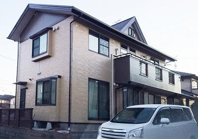 岩沼市K邸 外壁塗装・外装リフォーム 163万円/工期21日 施工後