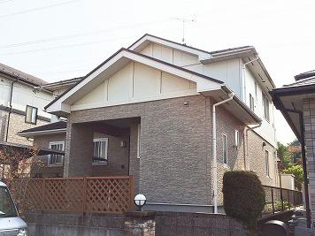 泉区O邸 外壁塗装・外装リフォーム 150万円/工期14日間 施工前