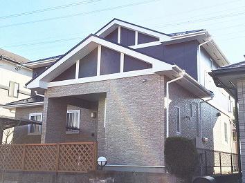 泉区O邸 外壁塗装・外装リフォーム 150万円/工期14日間 施工後