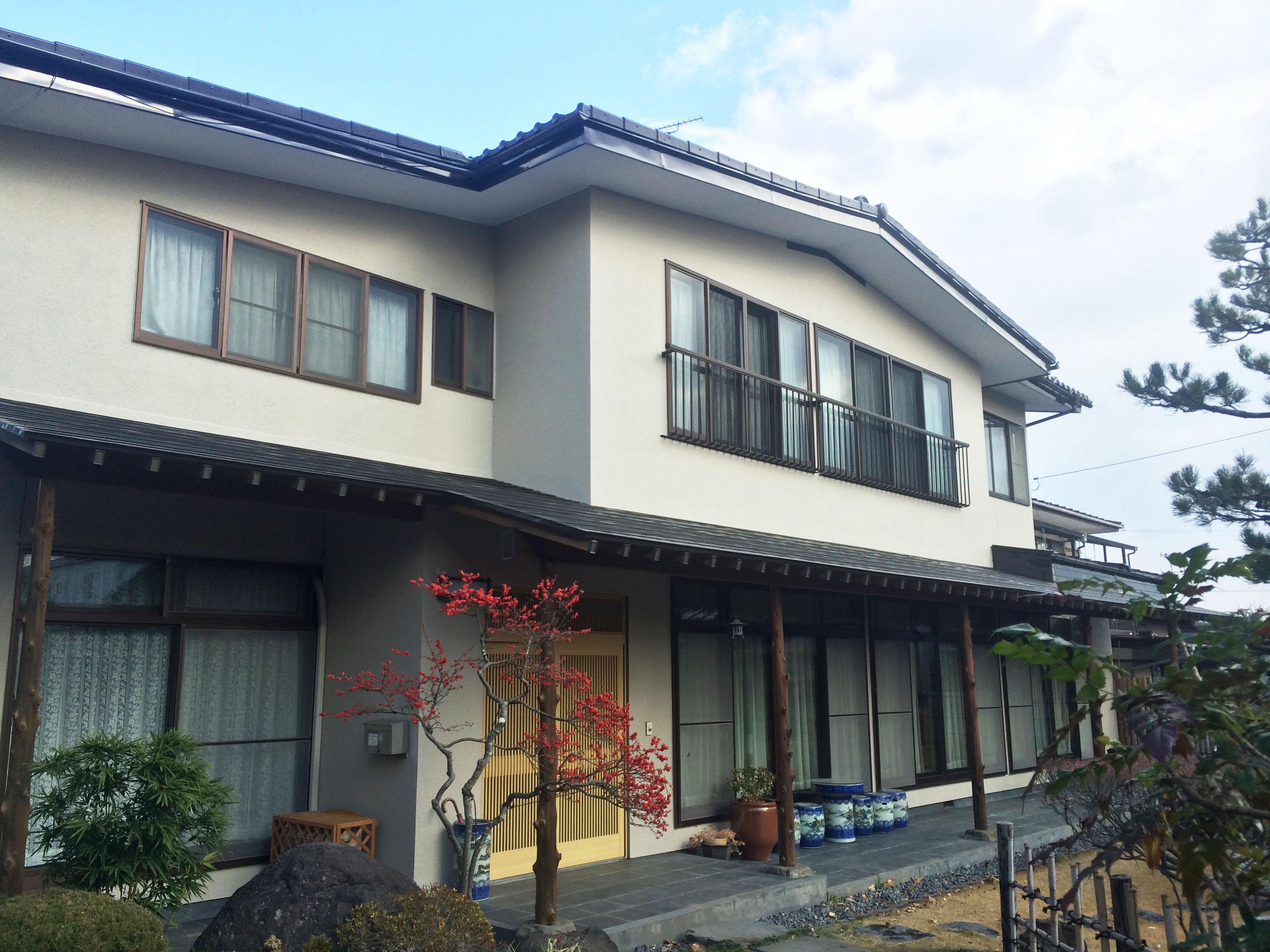 大和町S邸 外壁塗装・外装リフォーム 148万円/工期25日間 施工後
