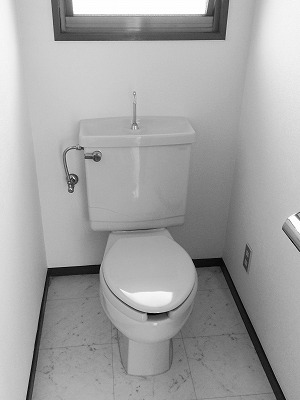 多賀城市T邸 トイレリフォーム 27万円(※内装工事含)/工期2日間 施工前