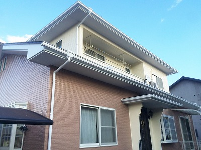 柴田郡Y邸 外壁塗装・外装リフォーム 180万円/工期14日間 施工後