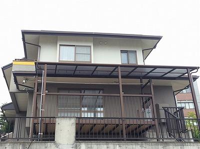 若林区W邸 外壁塗装・外装リフォーム 270万円/工期30日間 施工前