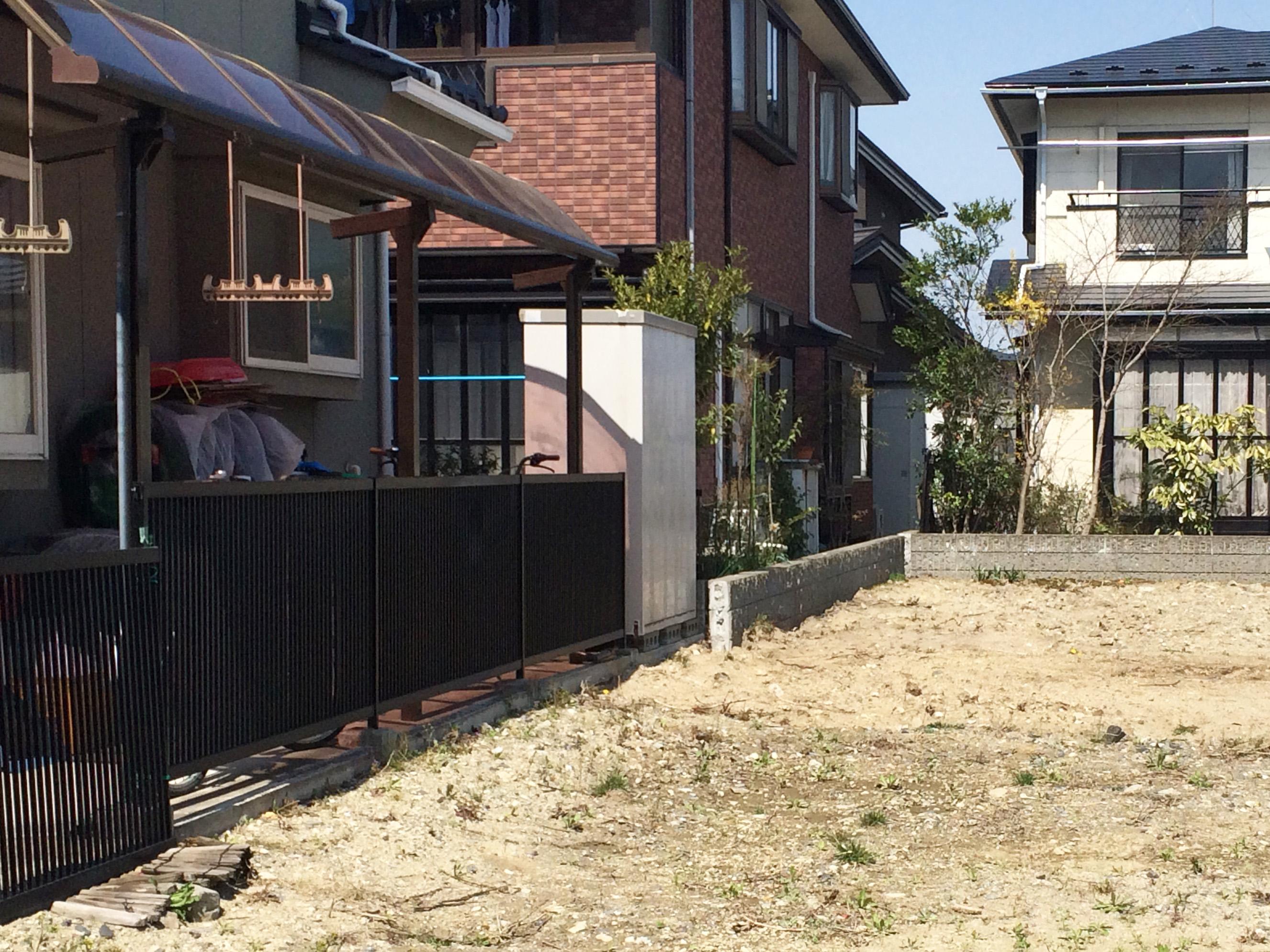 多賀城市S邸 エクステリアリフォーム 154万円/工期10日間 施工前