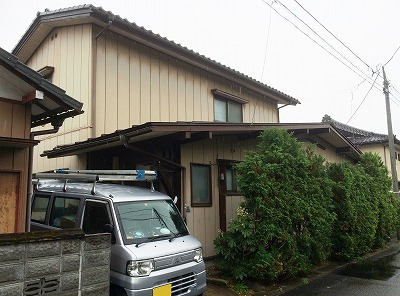 青葉区Y邸 外壁塗装・外装リフォーム 87万円/工期14日間 施工前