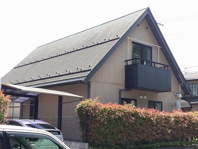 泉区T邸 外壁塗装・外装リフォーム 110万円/工期20日間 施工前