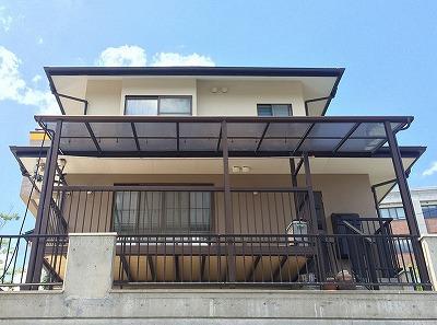 若林区W邸 外壁塗装・外装リフォーム 270万円/工期30日間 施工後