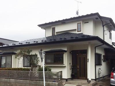 太白区O邸 外壁塗装・外装リフォーム 169万円/工期20日間 施工後