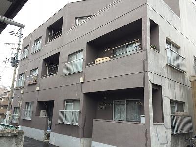 青葉区S様アパート 外壁塗装・外装リフォーム 750万円/工期約30日間 施工前