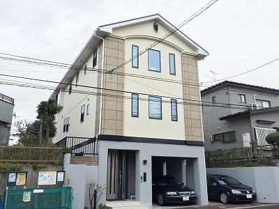 泉区M邸 外壁塗装・外装リフォーム 140万円/工期21日間 施工後