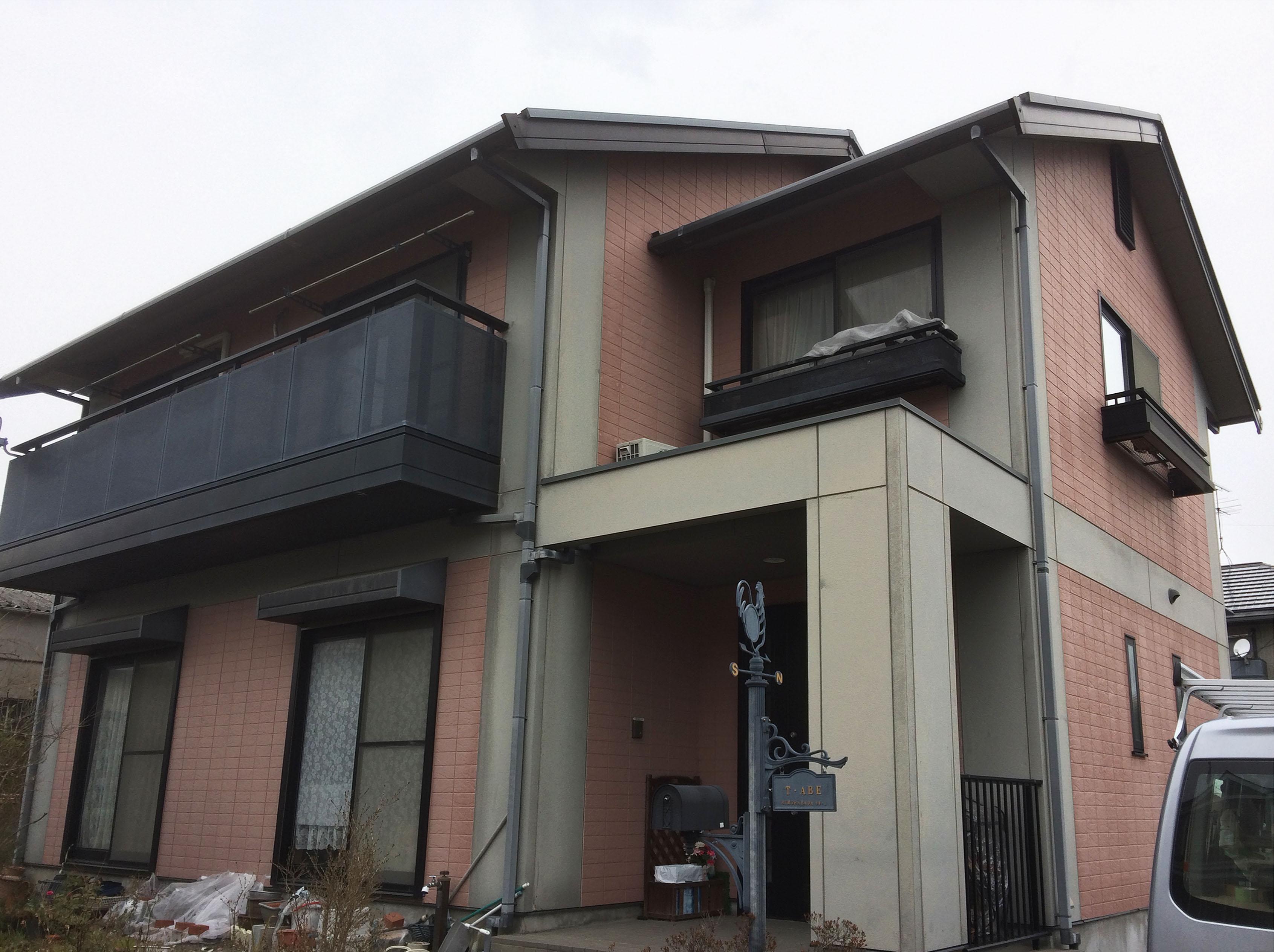 亘理町A邸 外壁塗装・外装リフォーム 127万円/工期21日間 施工前