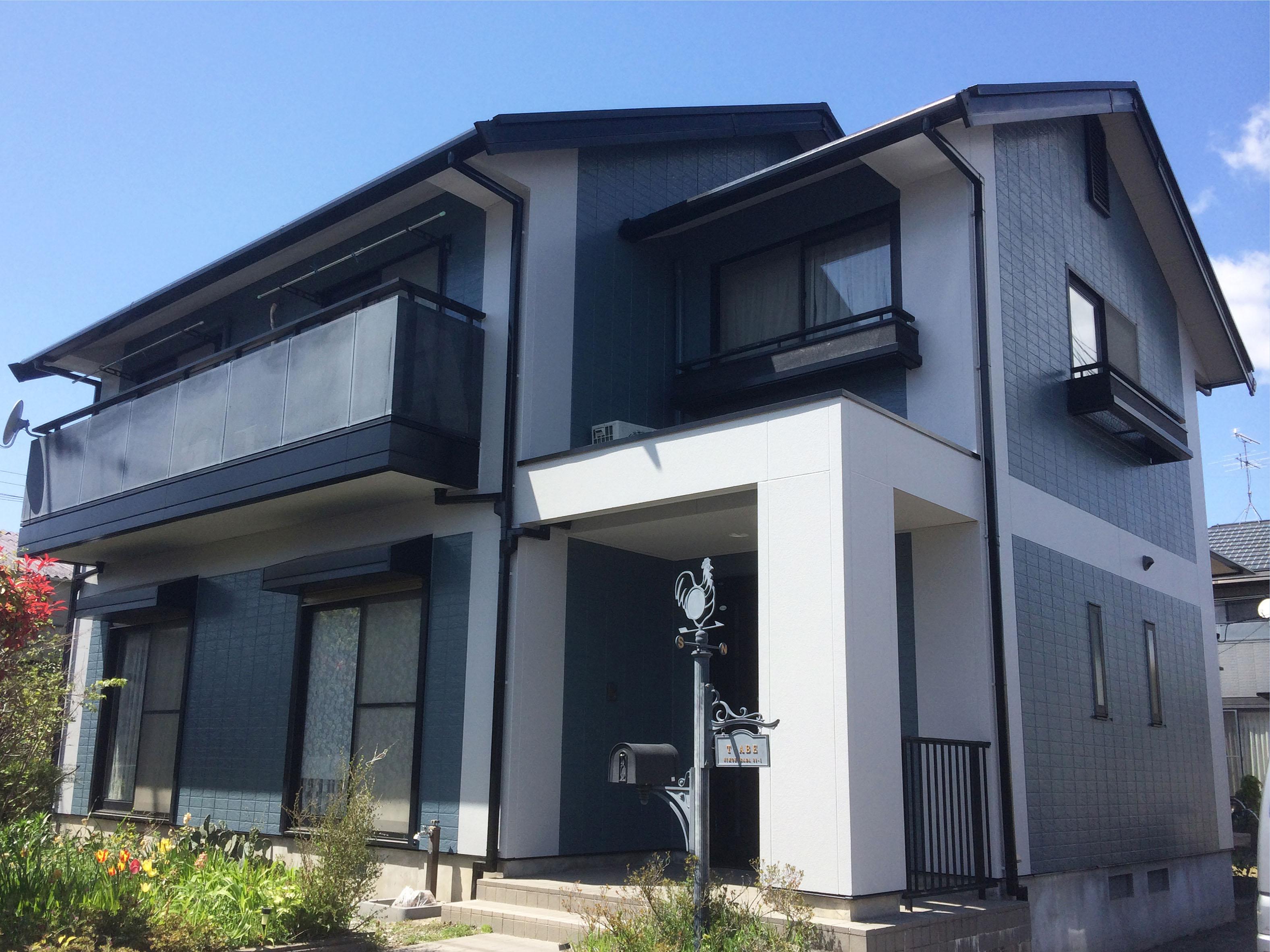 亘理町A邸 外壁塗装・外装リフォーム 127万円/工期21日間 施工後