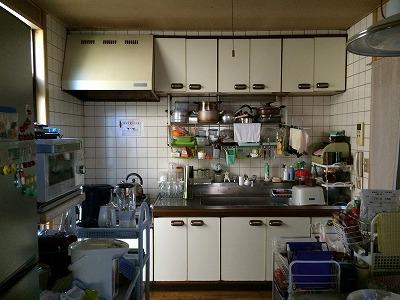 富谷市S邸 キッチンリフォーム 186万円/工期5日間 施工前