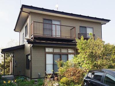 青葉区E邸 外壁塗装・外装リフォーム 93万円/工期14日間 施工前
