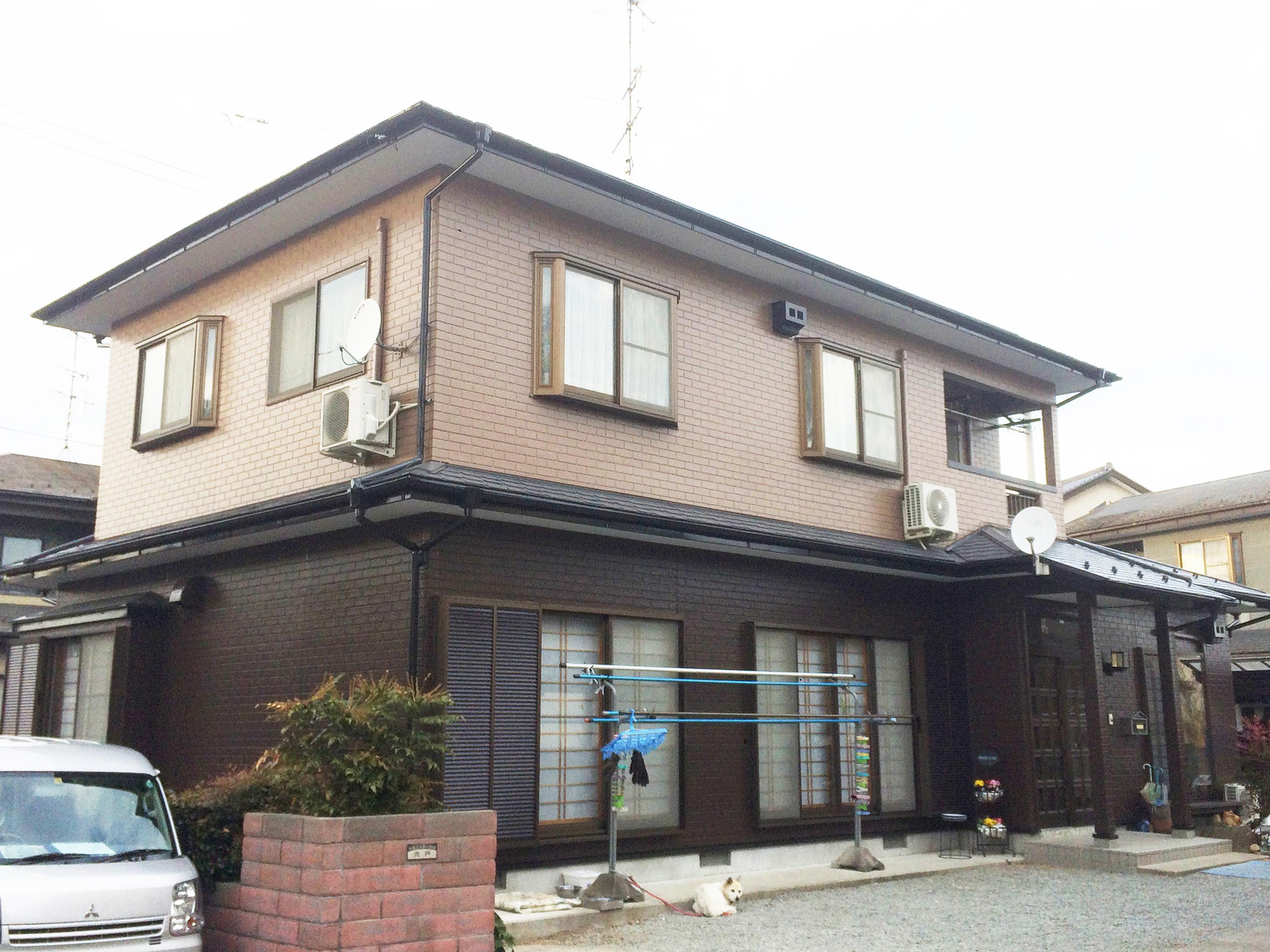 福島県S邸 外壁塗装・外装リフォーム 144万円/工期20日間 施工後