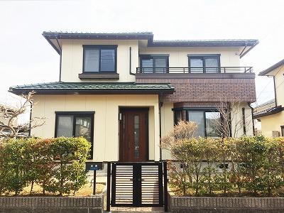 富谷市K邸 外壁塗装・外装リフォーム 125万円/工期19日間 施工後