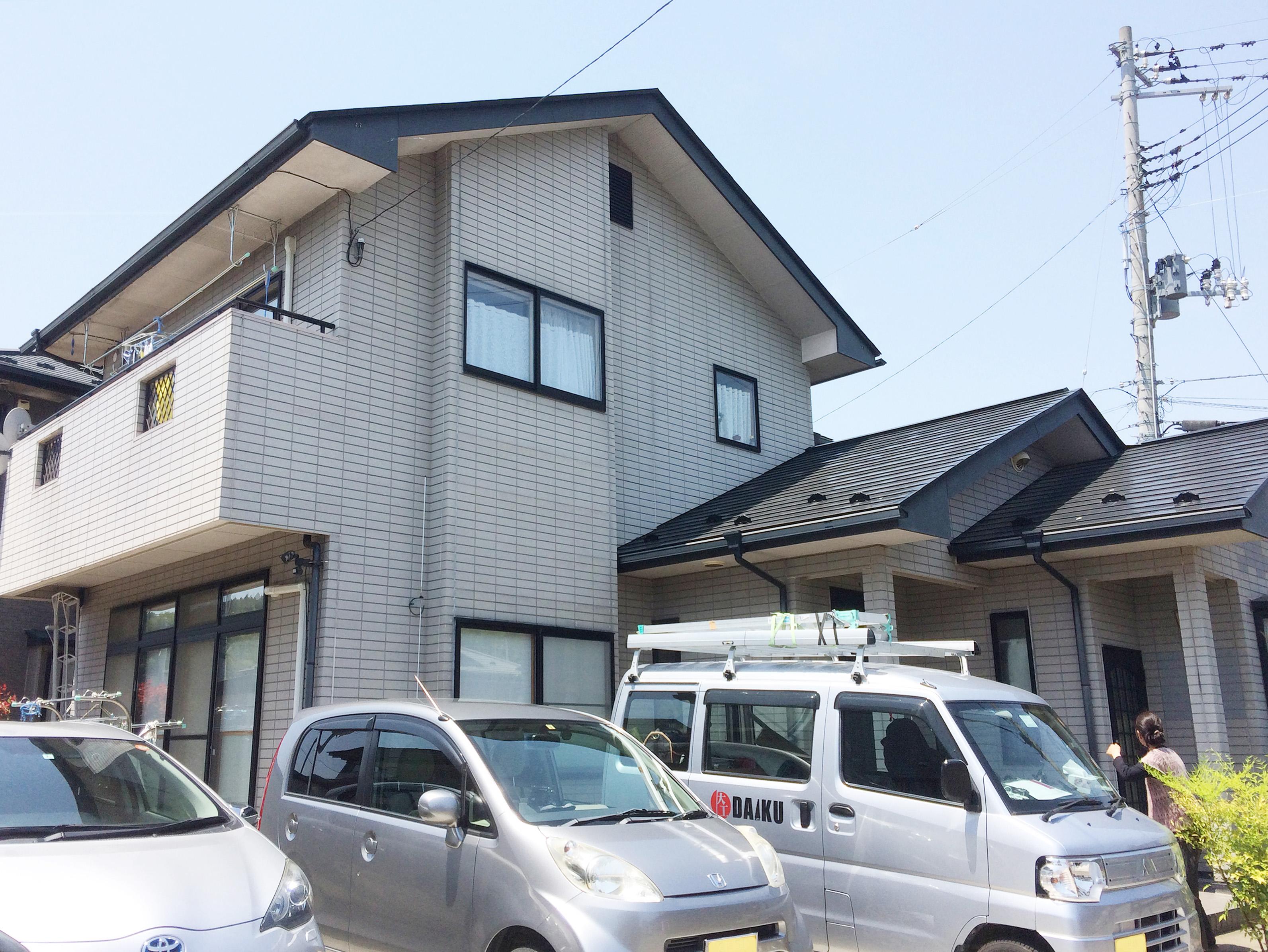 大崎市M邸 外壁塗装・外装リフォーム 120万円/工期14日間 施工前