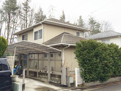 泉区A邸 外壁塗装・外装リフォーム 85.5万円/工期20日間 施工前