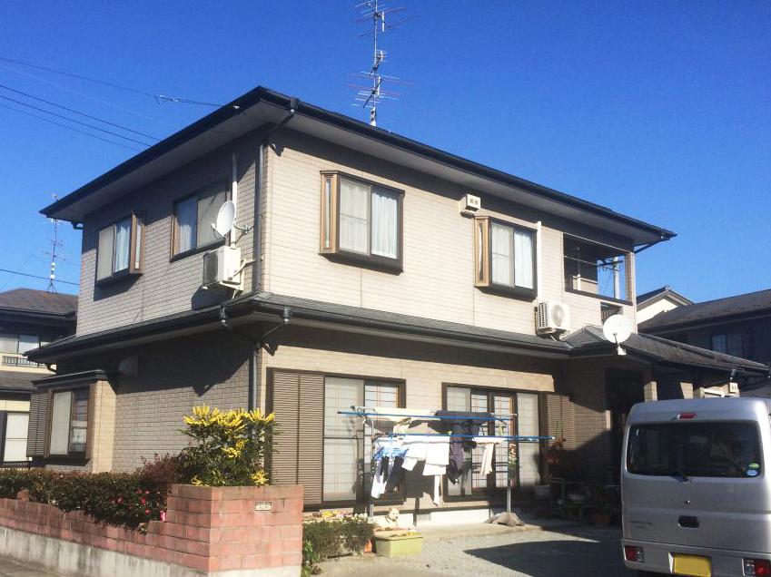 福島県S邸 外壁塗装・外装リフォーム 144万円/工期20日間 施工前