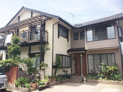 福島県H邸 外壁塗装・外装リフォーム 145万円/工期14日間 施工後