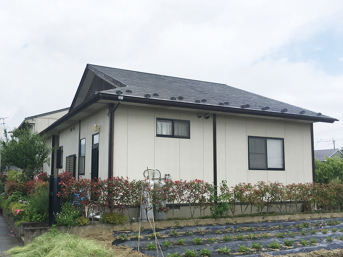 柴田郡H邸 外壁塗装・外装リフォーム 54万円/工期5日間 施工前