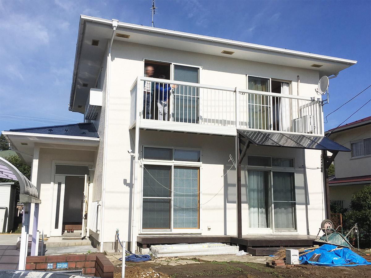 青葉区M邸 外壁塗装・外装リフォーム 76万円/工期20日間 施工後