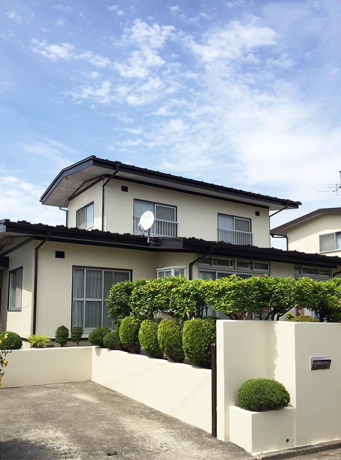 泉区S邸 外壁塗装・外装リフォーム 117万円/工期20日間 施工後