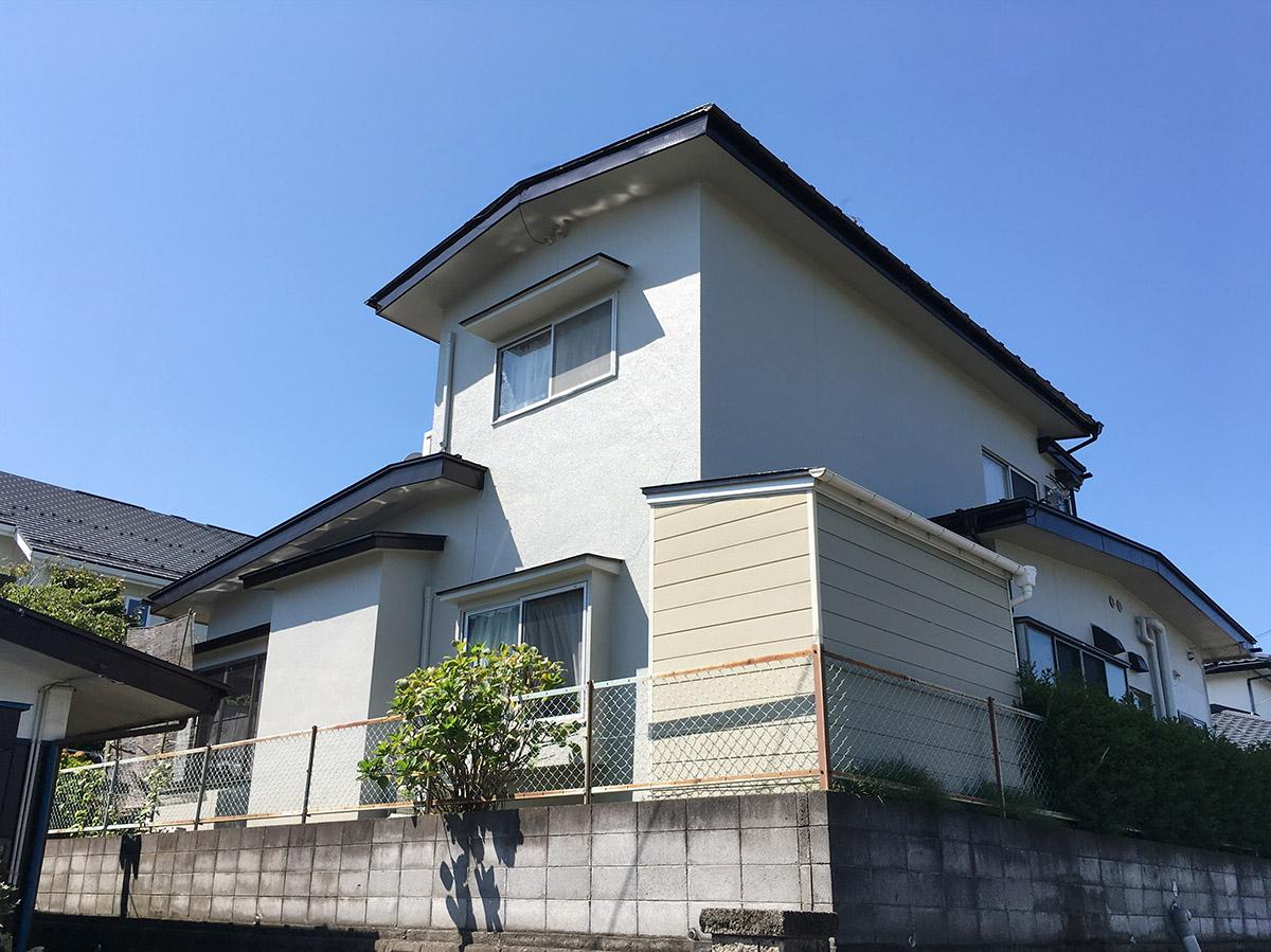 宮城野区A邸 外壁塗装・外装リフォーム 110万円/工期20日間 施工後