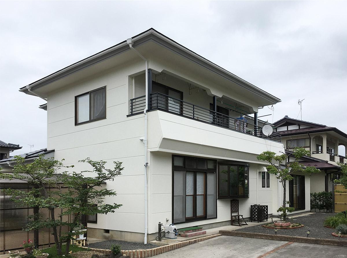 福島県O邸 外壁塗装・外装リフォーム 115万円/工期20日間 施工後