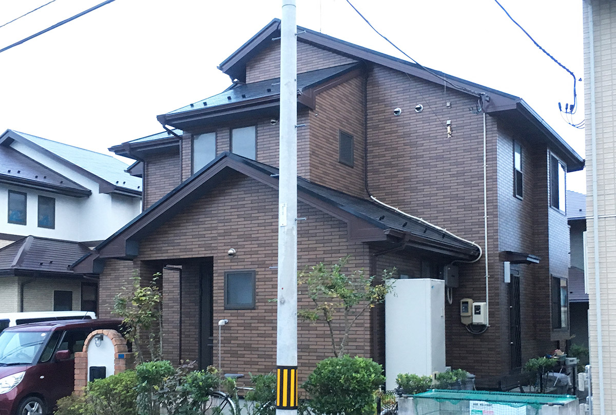 宮城野区T邸 外壁塗装・外装リフォーム 150万円/工期20日間 施工後
