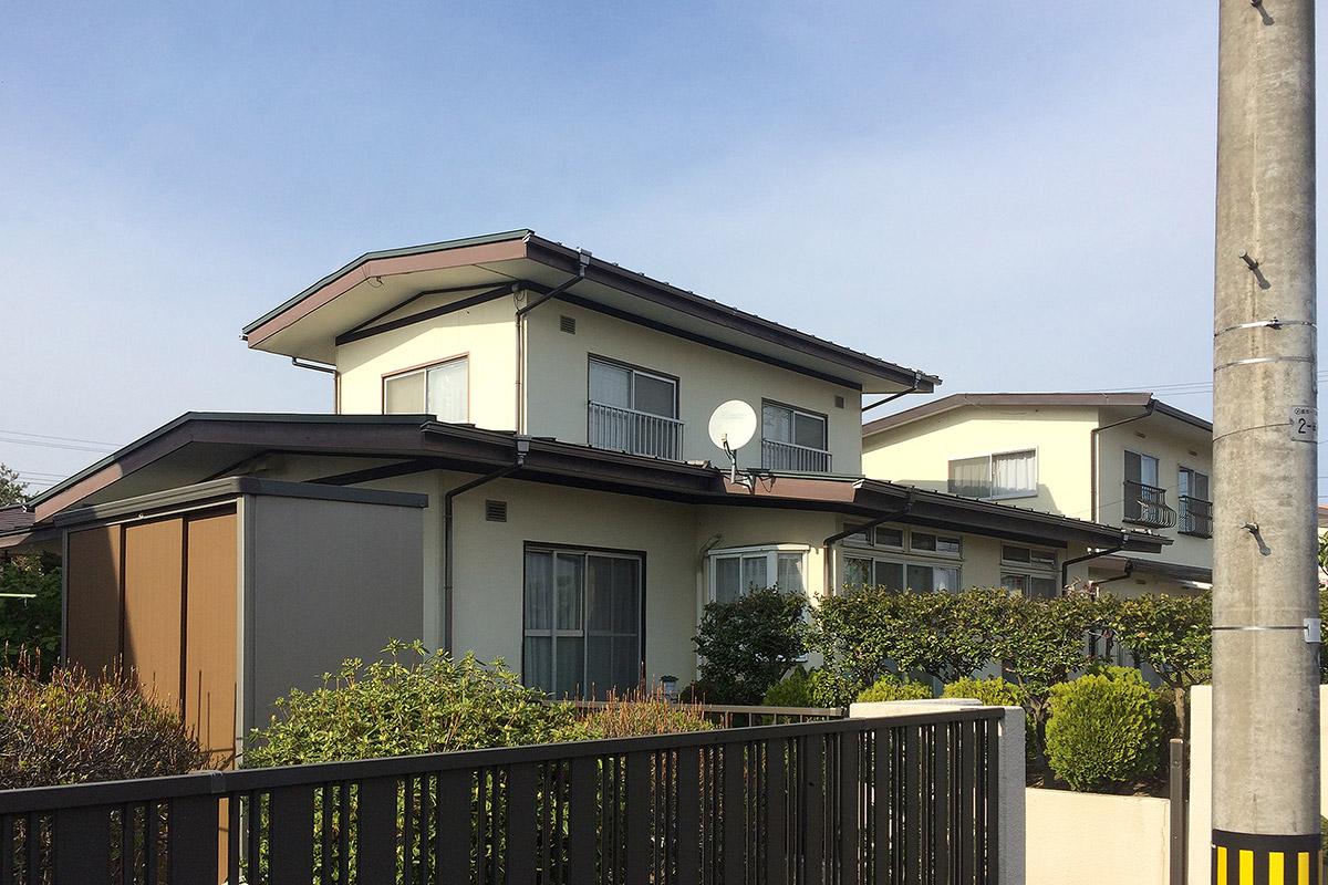 泉区S邸 外壁塗装・外装リフォーム 117万円/工期20日間 施工前