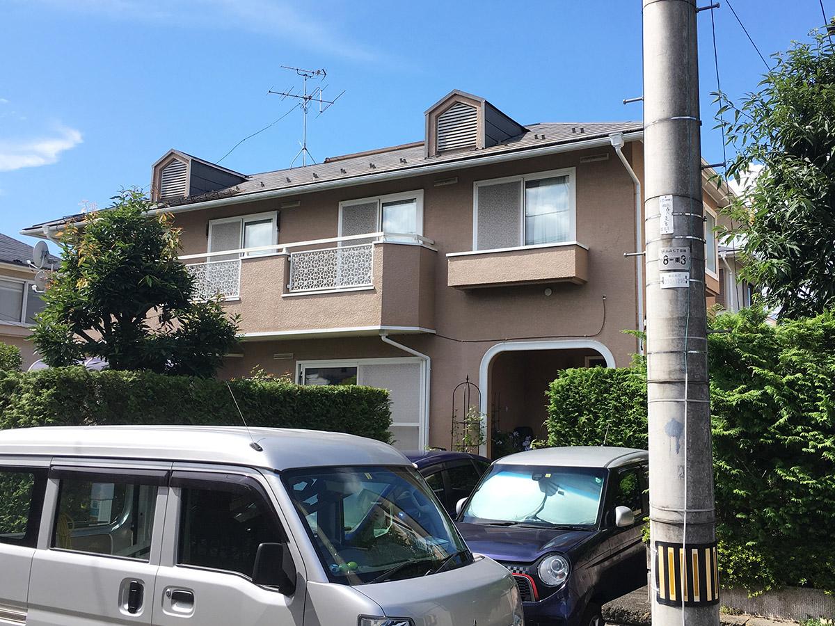 泉区Z邸 外壁塗装・外装リフォーム 194万円/工期21日間 施工前