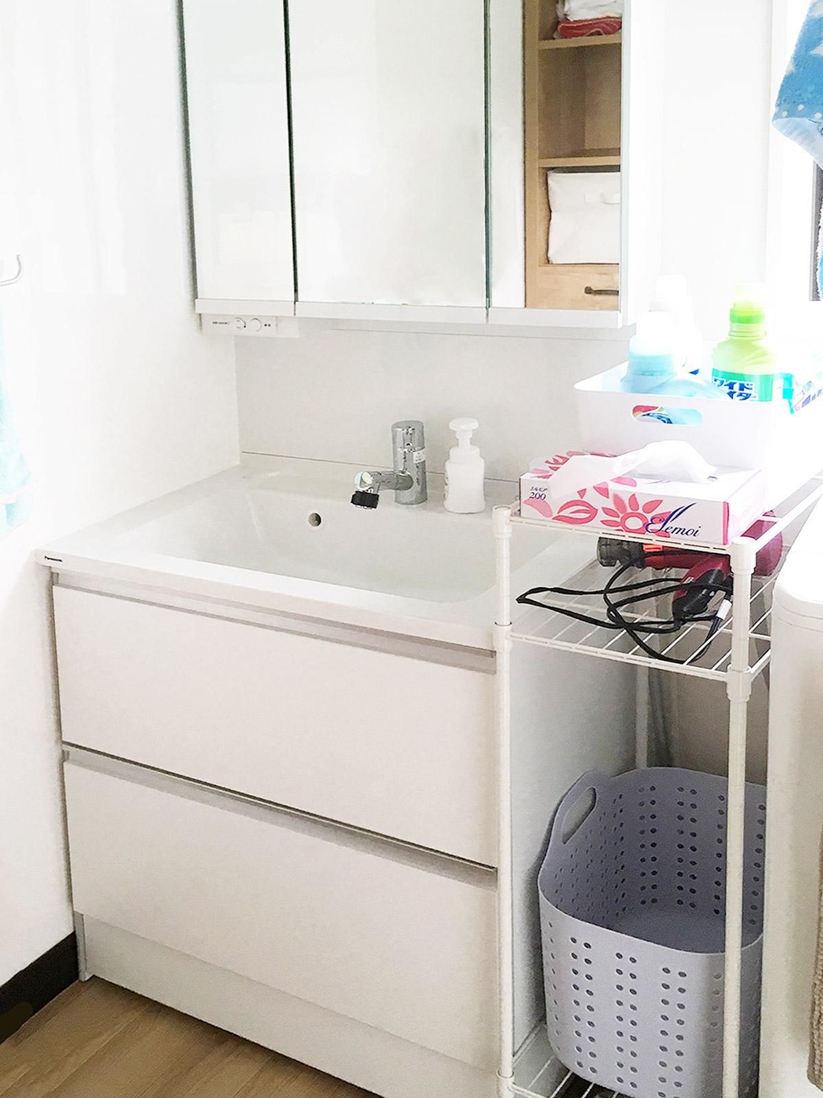 伊達市Y邸 洗面化粧台リフォーム 42万円/工期1日間 施工後