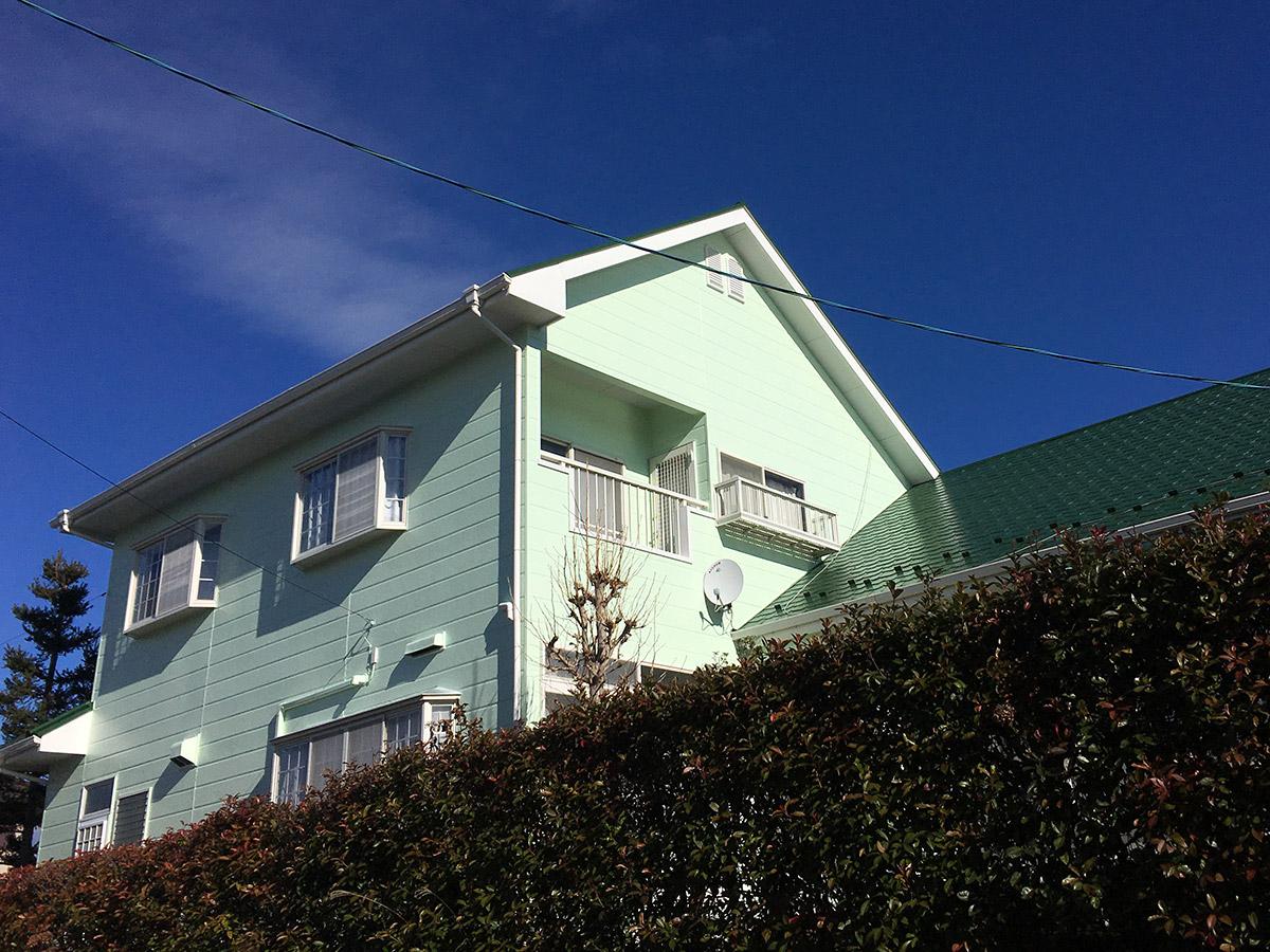 泉区S邸 外壁塗装・外装リフォーム 116万円/工期20日間 施工後